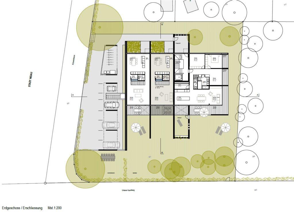 Port Grundriss Wohnung 1.2 EG